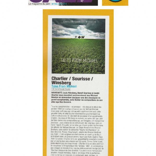 </br>Jazz Magazine</br>